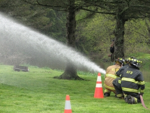 Fire-fighting competition